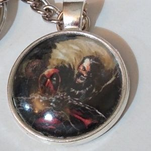 Accessories - Keychain Deadpool Comics Handmade Unique